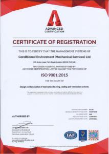 Conditioned-Environment-9001-2015-UKAS-Cert.pdf